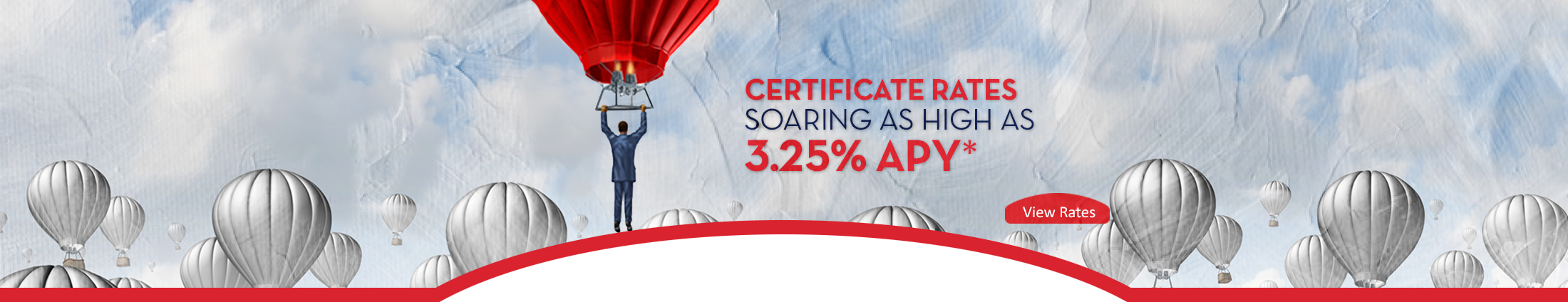 Certificate Rates as high as 3.05% APY