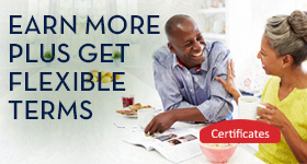 Tampa Bay Federal Credit Union Certificates